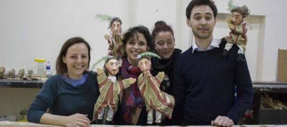 Puppets for Monsieur de Pourceaugnac